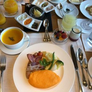 リッツ 贅沢朝食