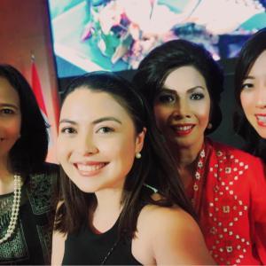 インドネシア大使館パーティー