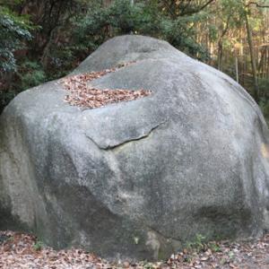 笠間城(茨城県)②大黒石