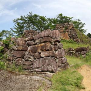 赤木城(三重県)③もう二度と見ることが出来ない景色