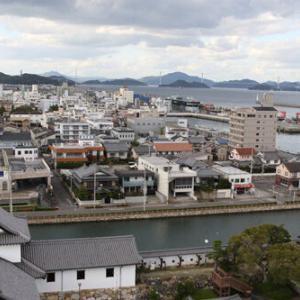 今治城(愛媛県)③海と繋がるお城