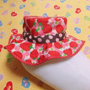 帽子を作りましたo(*^▽^*)o