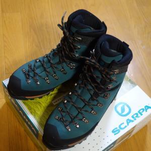 雪山用登山靴を買う「スカルパ モンブランGTXを購入♪」