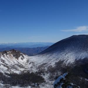 冬の黒斑山「雪山シーズン前の足慣らしで散策♪」
