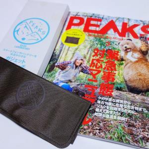 PEAKS 2021年3月号を購入♪