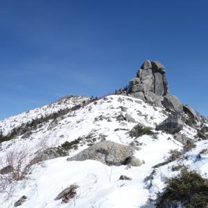 冬の金峰山「瑞牆山荘から2月の五丈石を見に行ってきた♪」