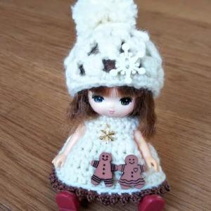 ミキちゃんマキちゃんサイズのクリスマス服