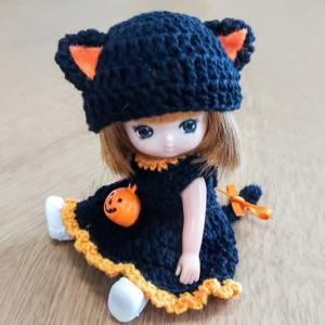 ミキちゃんマキちゃん ハロウィン黒猫