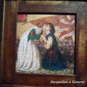 Roman de la Rosa  By.Dante Gabriel Rossetti