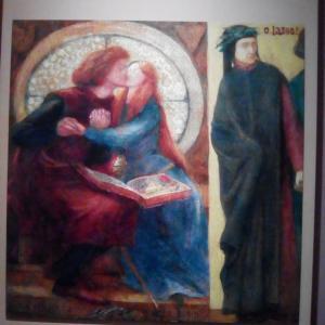 Paolo e Francesca da Rimini  By.Dante Gabriel Rossetti