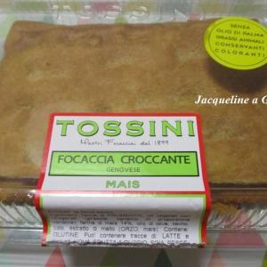 これ美味し!ハードタイプのフォカッチャ·ジェノヴェーゼ♪コーン風味 by.Tossini