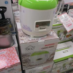ホームセンターでイタリアンメーカーの電子炊飯器発見!