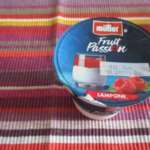 レアチーズ系デザート♪ラズベリーソース♡Fruit Passion Lamponi By.Miller