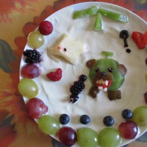 フルーツギャラリー風♥リアルに怖いのはちょっと…夕張のメロン熊·カワイイバージョン!