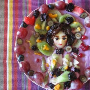 フルーツギャラリー風♥クリムト第5段☆彼の恋人♥「エミーリエ・フレーゲの肖像」