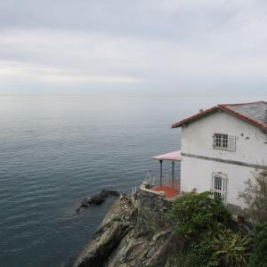 海辺の家。
