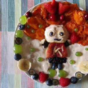 フルーツギャラリー風♥餃子を食べてスタミナつけよ!スタミナ 健太くん♪