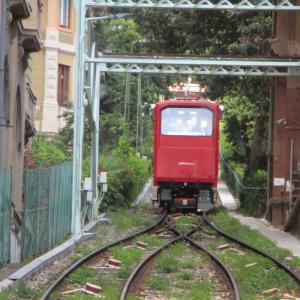 フニクリ♪フニクラ♪ケーブルカーに乗ってみる☆@Genova