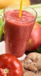 体が喜ぶスムージー、粘膜を丈夫にして免疫力を上げる赤の食材