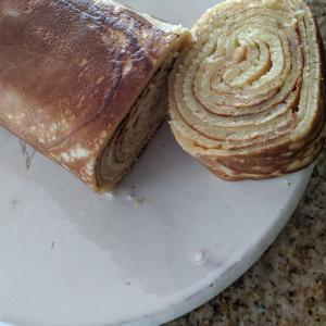 ホットケーキミックスで作るミルフィーユロールケーキ