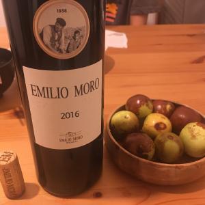 スペイン赤ワイン × 自宅で夕飯久しぶり × 酔っ払い