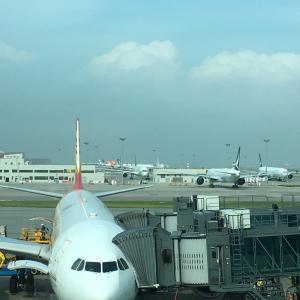 本日より東京へ(HKG>NRT)