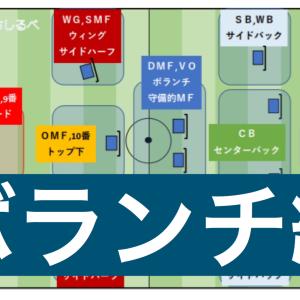 サッカーのポジションの名前【ボランチってどこにいる人?】