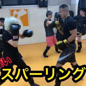 【キックボクシング】スパーリング