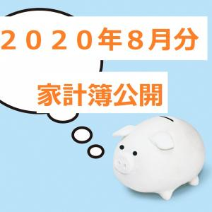 【家計簿公開】8月の家計簿公開・年間払い等がありCFはマイナス?
