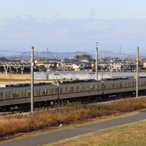 10000系新栃木行・令和元年12月の東武日光線