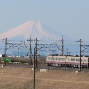 東武リバイバルカラー南会津日帰り旅と富士山