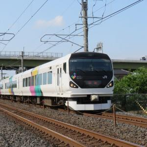 E257系修学旅行列車は
