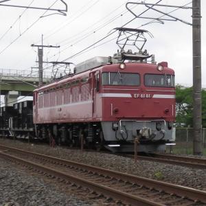 自粛中の撮り鉄・EF8181(上り)