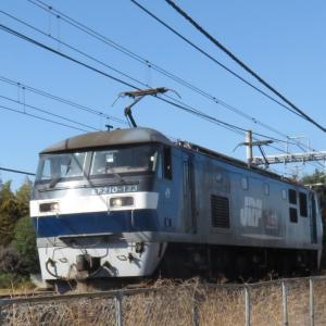 EF210-123単行(3月の宇都宮線)