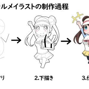 【初心者向け】ちびキャラの描き方【デフォルメキャラクター】