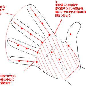 超簡単!手のイラストを描くコツについて徹底解説!3Dでアタリを作ればなぞるだけ