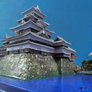 松本城ジオラマの報告です