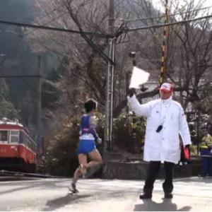 「箱根駅伝風景」をジオラマ化出来ないか