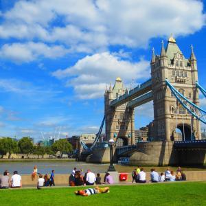 ロンドン観光ルート(ロンドン塔~セントポール大聖堂)