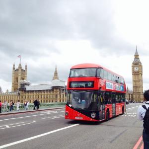 ロンドン観光ルート(ウェストミンスター、大英博物館)