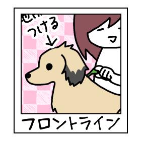 犬とフロントライン