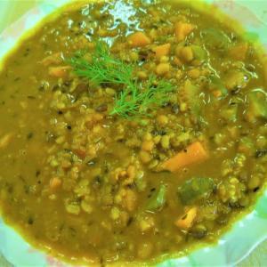 ミックスダル豆カレー
