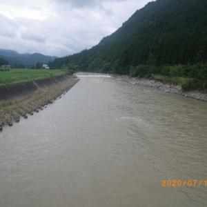 益田川上流 支流釣行 鮎 アマゴ 岩魚