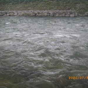 益田川上流 無数河川 いい感じです
