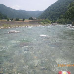 馬瀬川上流釣行