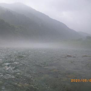 8月9日 馬瀬馬瀬川上流釣行