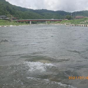 益田川上流 凝りもせずに行ってきました