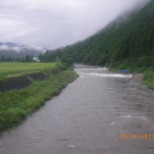 今シーズン益田川上流はほぼ終わり?