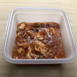 [ホットクック、作り置き] 鶏肉のトマト煮_02