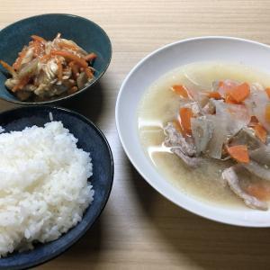 [ホットクック、レシピ] 豚汁
